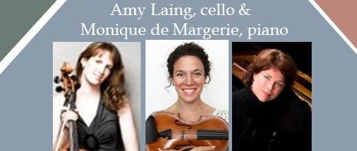 FEBRUARY 12: g2-7 Recital featuring Bethany Bergman (violin), Amy Laing (cello) and Monique de Margerie (piano).