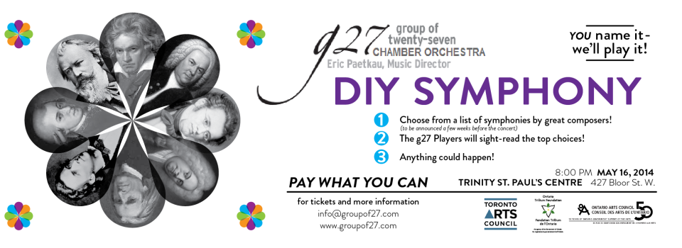 MAY 16 - DIY SYMPHONY